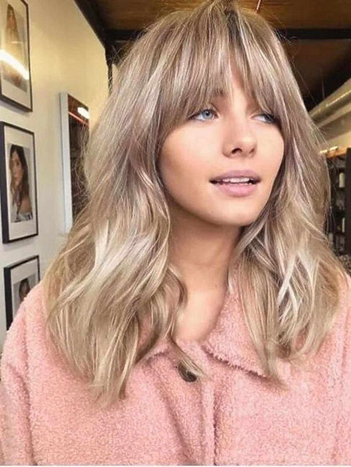 Koloryzacja antyczny blond