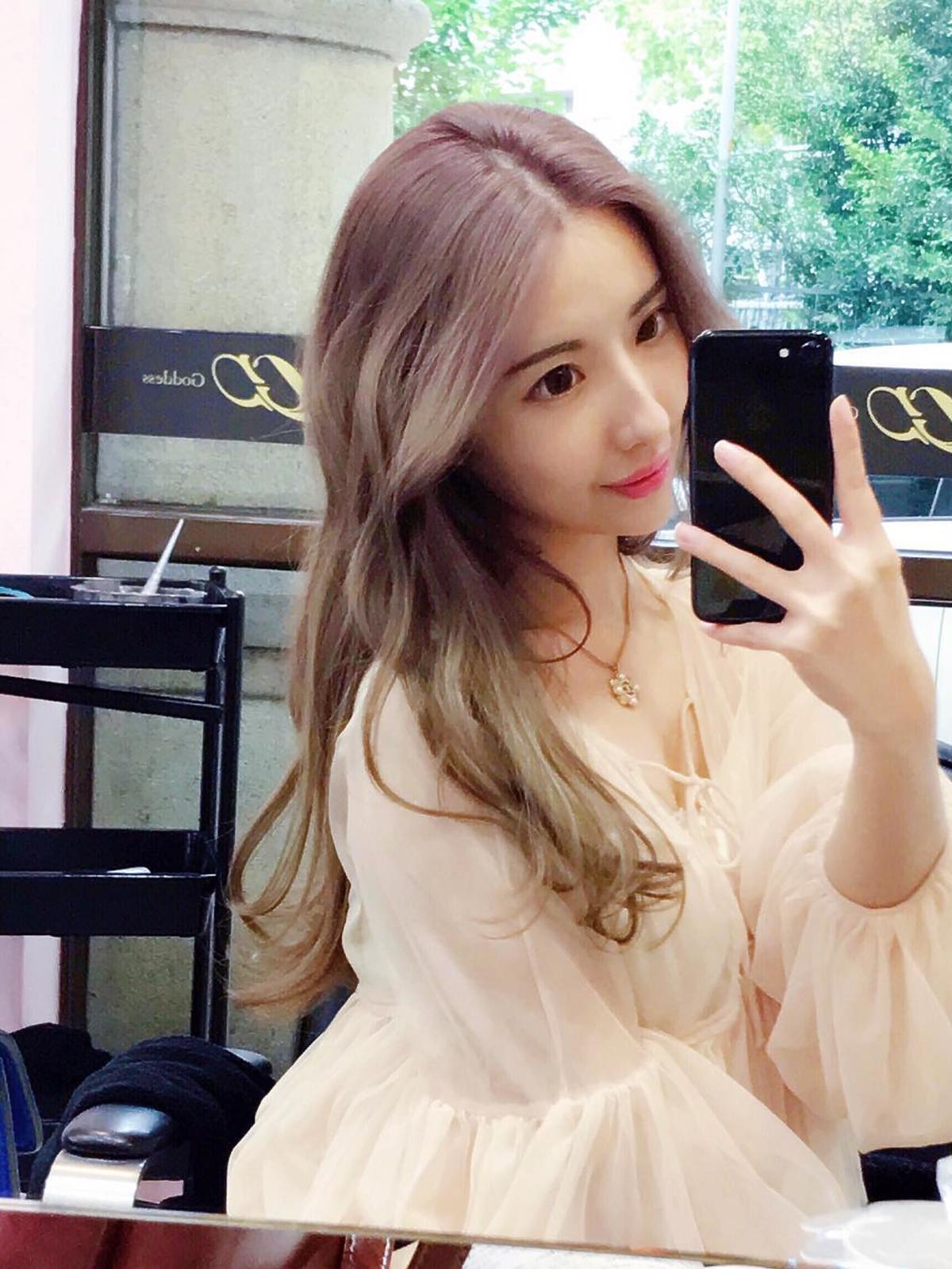 Modna w Azji koloryzacja