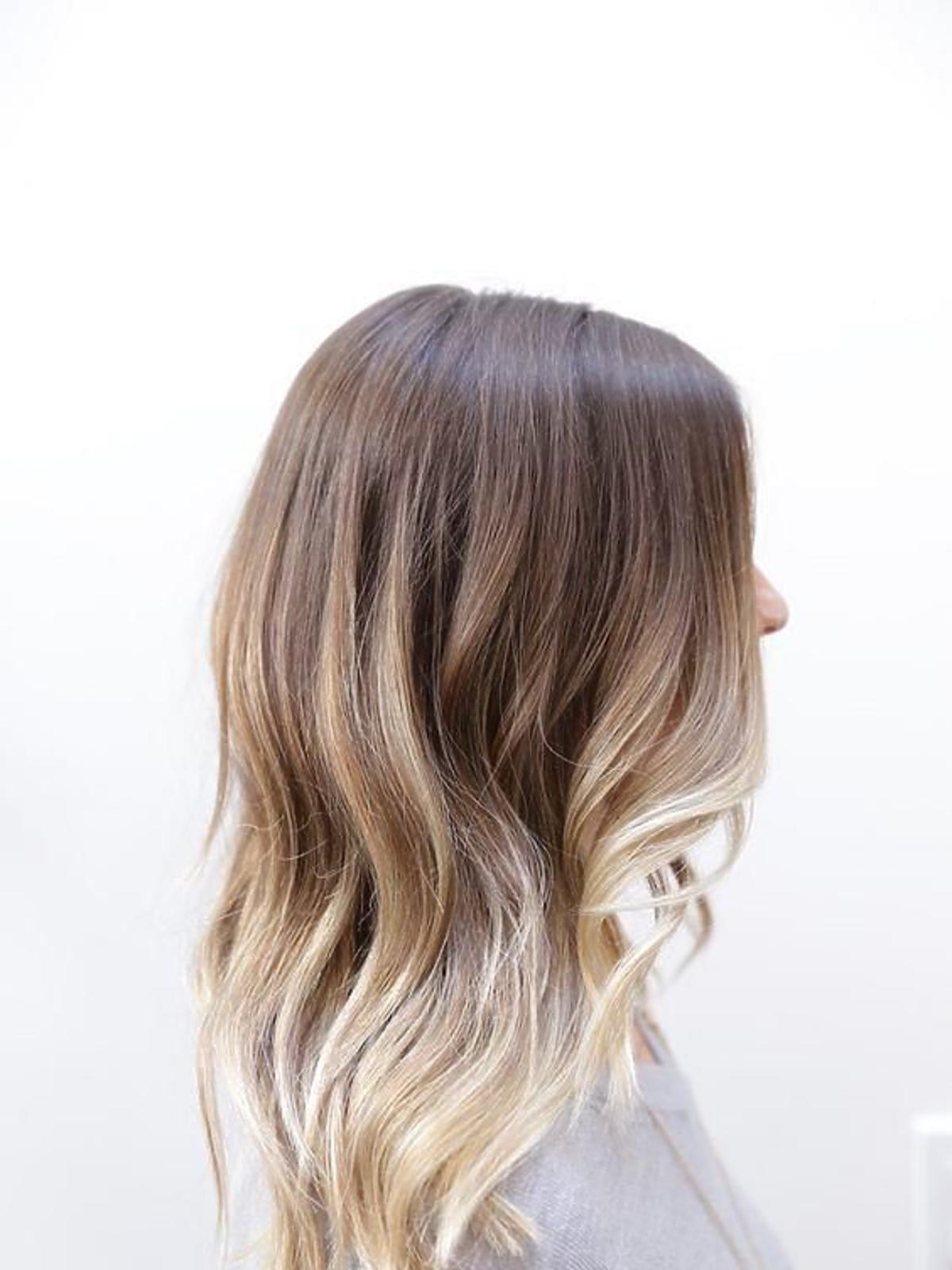 Ombre na włosach