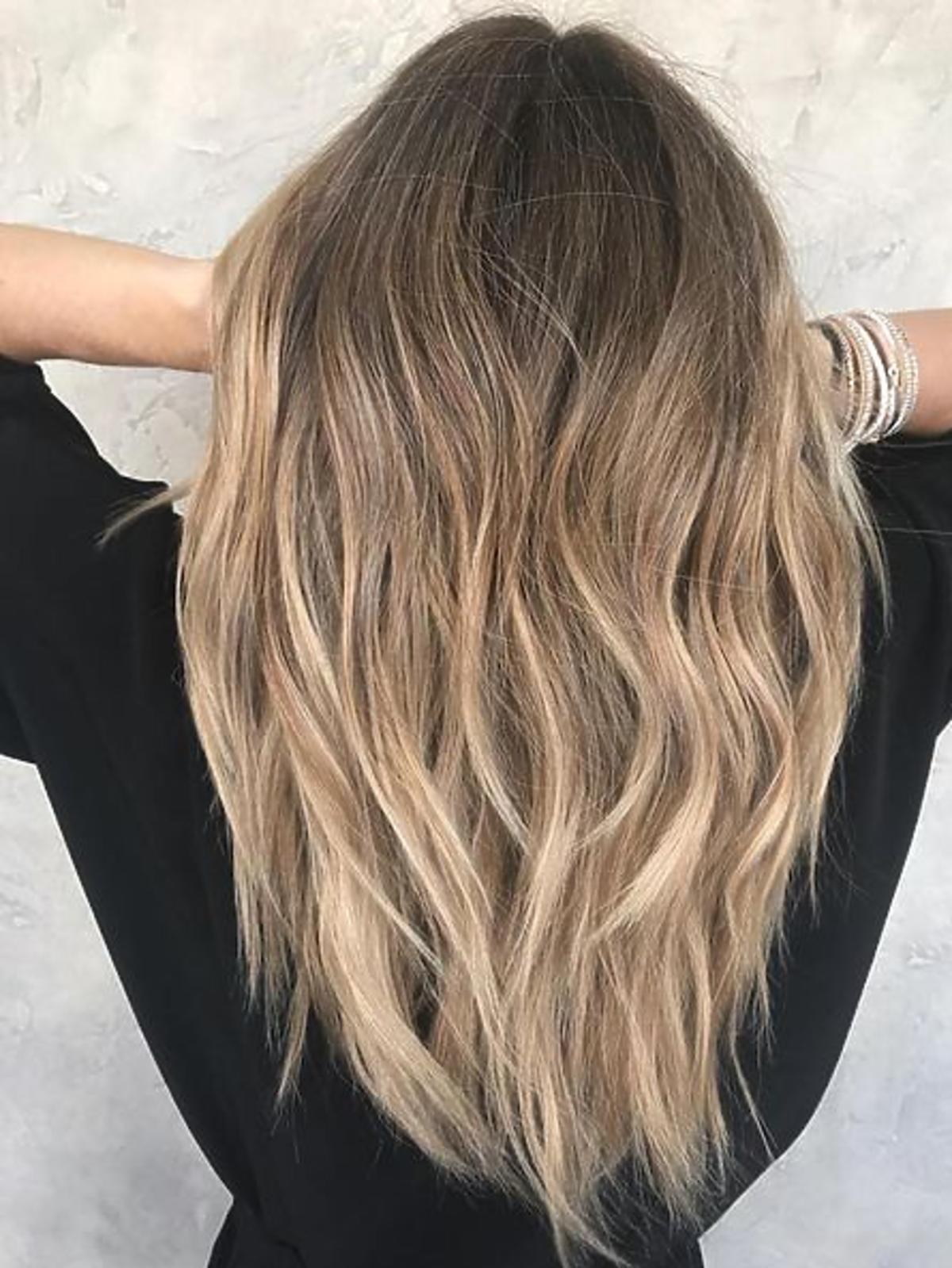 Modna koloryzacja blond - Sombre 2020