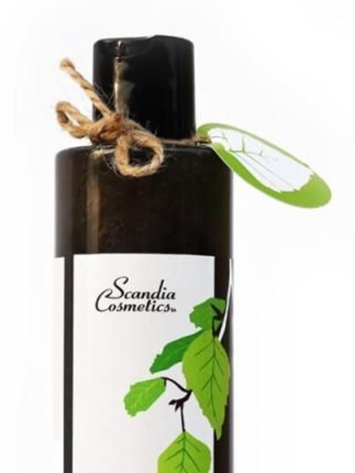 Scandia Cosmetics Szampon Dziegciowy z Aktywnym Węglem