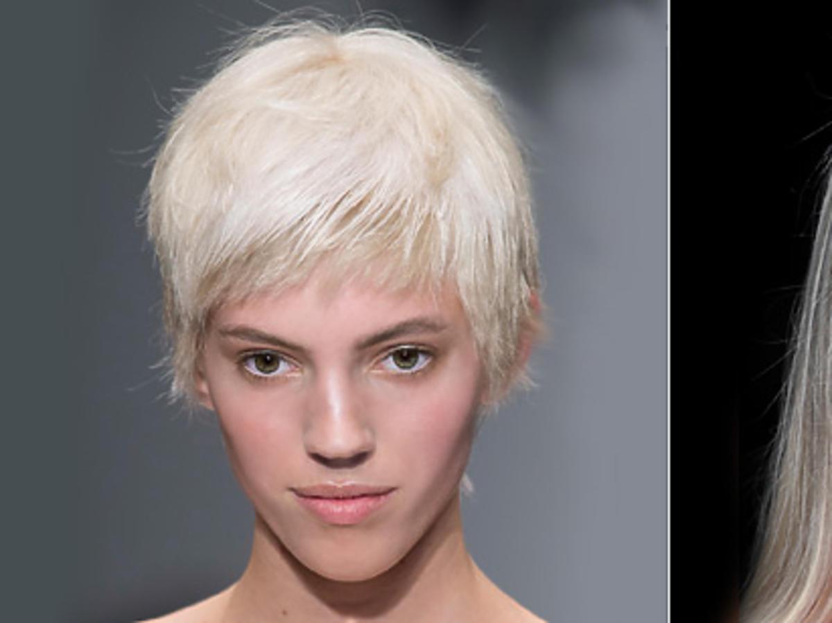 Platynowy blond - Moschino, Tom Ford