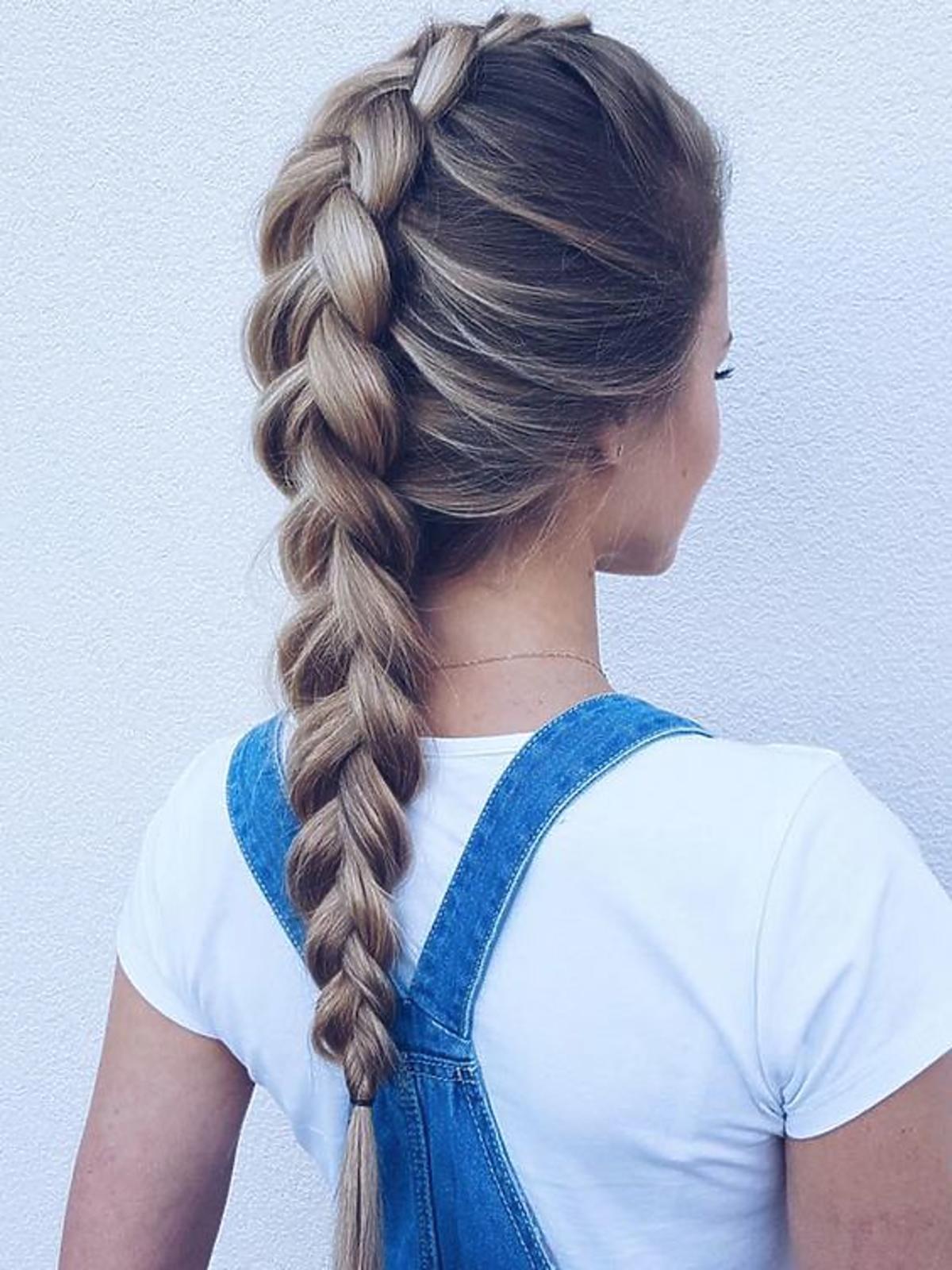 Warkocz - fryzura udająca klasykę
