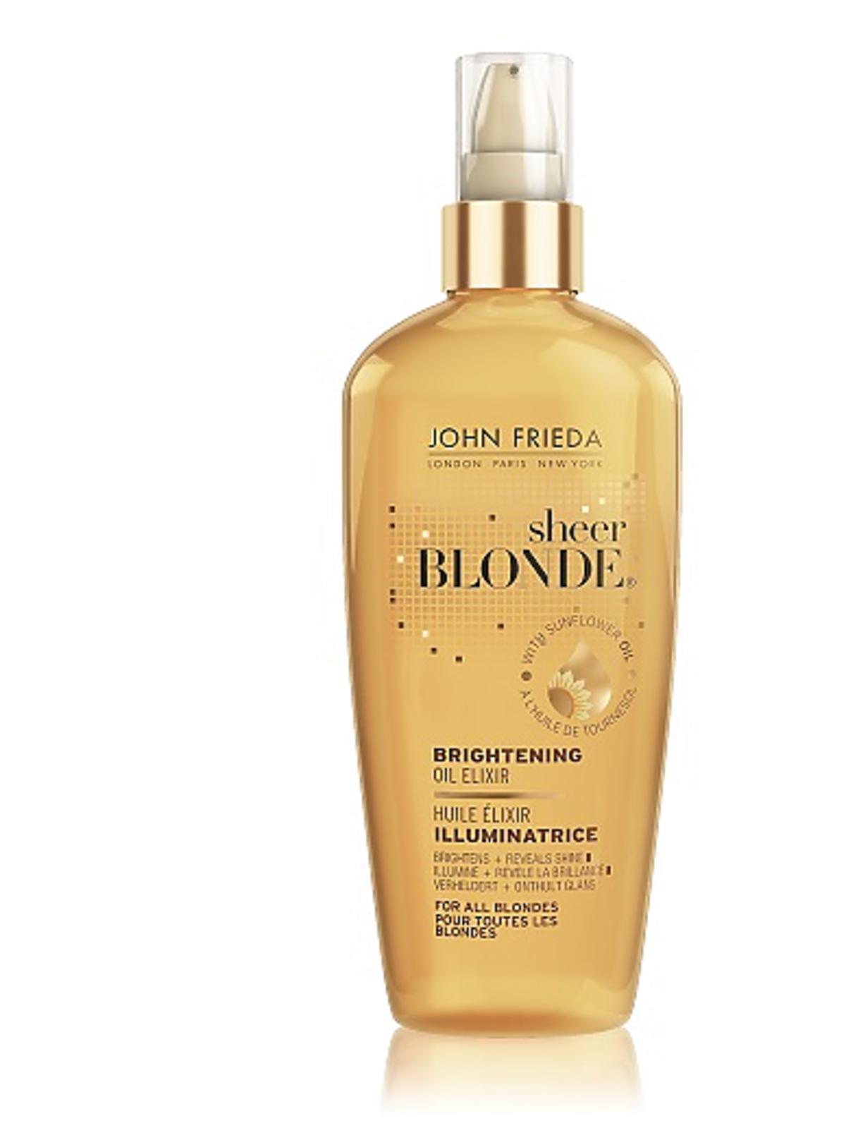 Złocisty olejek dla blondynek Frieda, 53zł