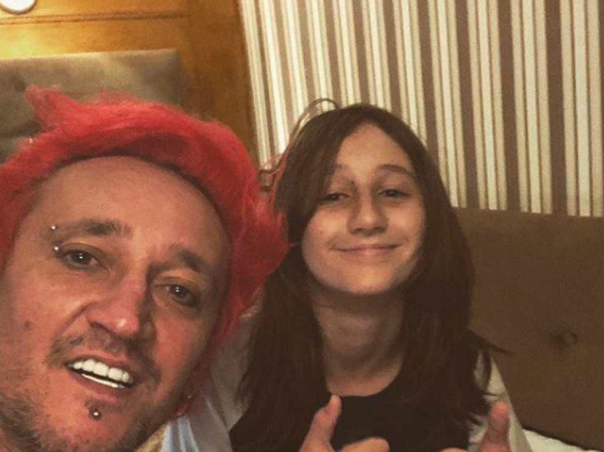 13-letnia córka Michała Wiśniewskiego znowu zmieniła kolor włosów
