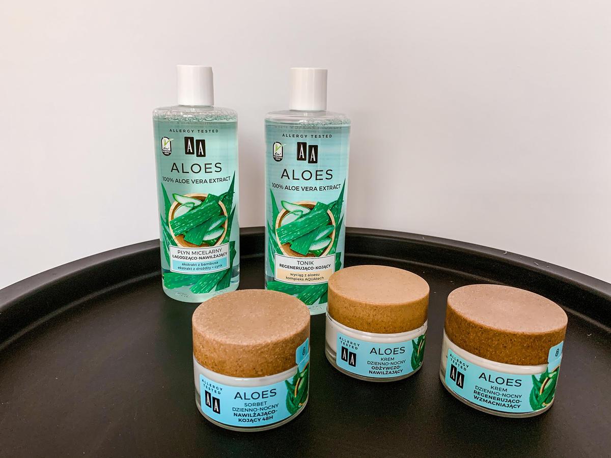 AA Aloes - kosmetyki do pielęgnacji twarzy