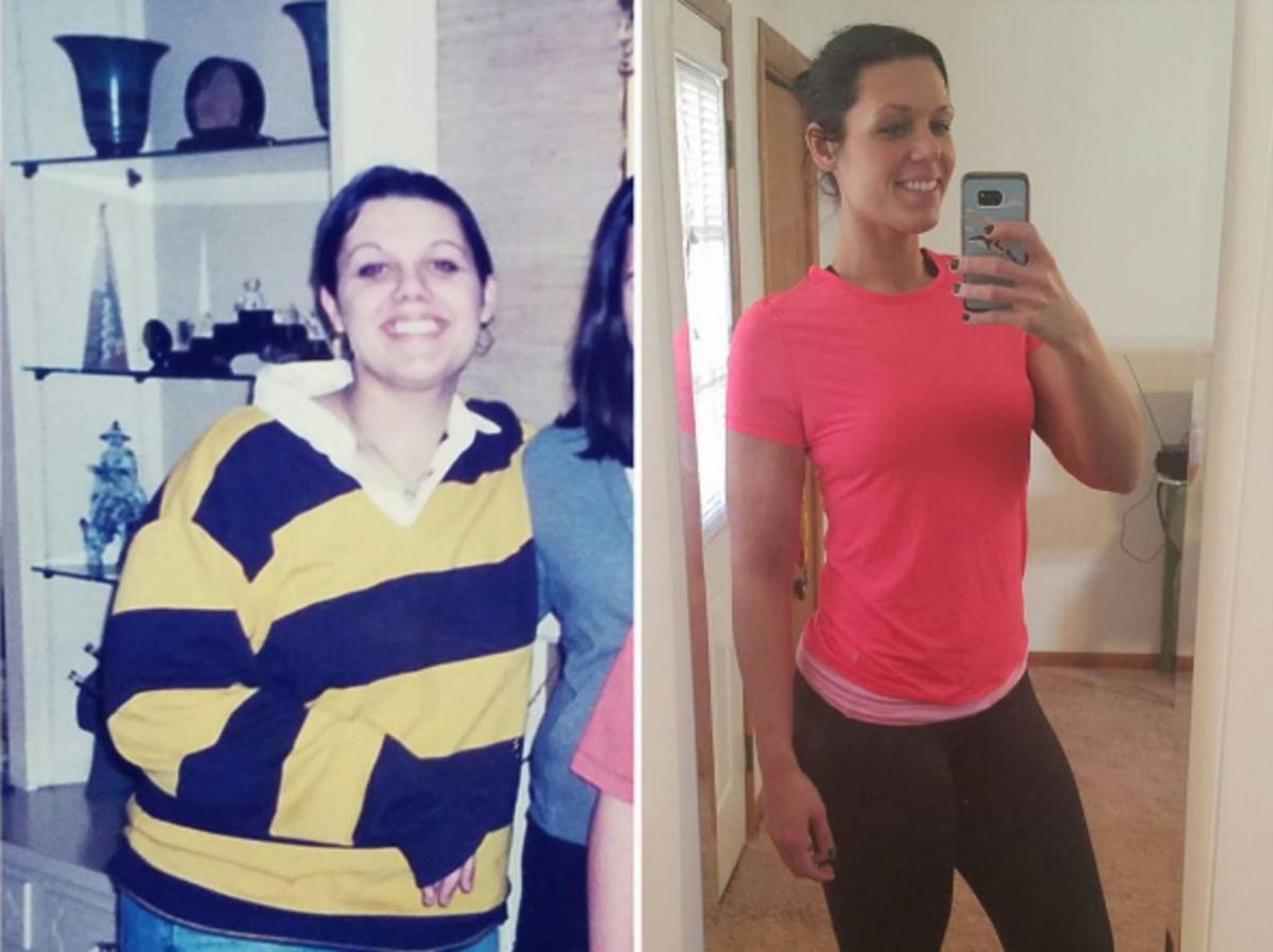 Abby Lutz przed i po metamorfozie