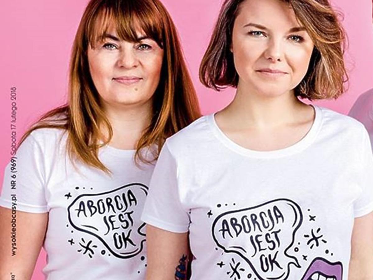 aborcja jest ok wysokie obcasy