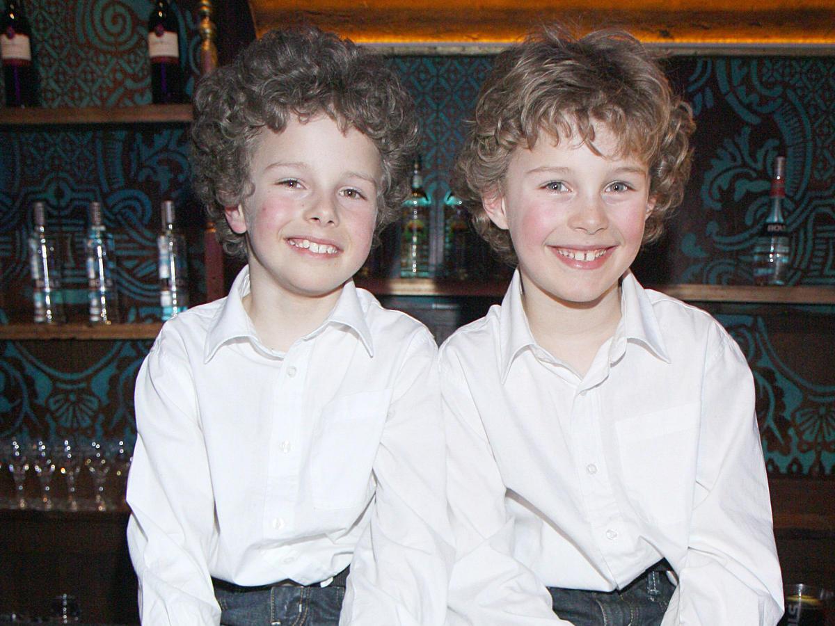 adam i jakub zdrójkowski w dzieciństwie