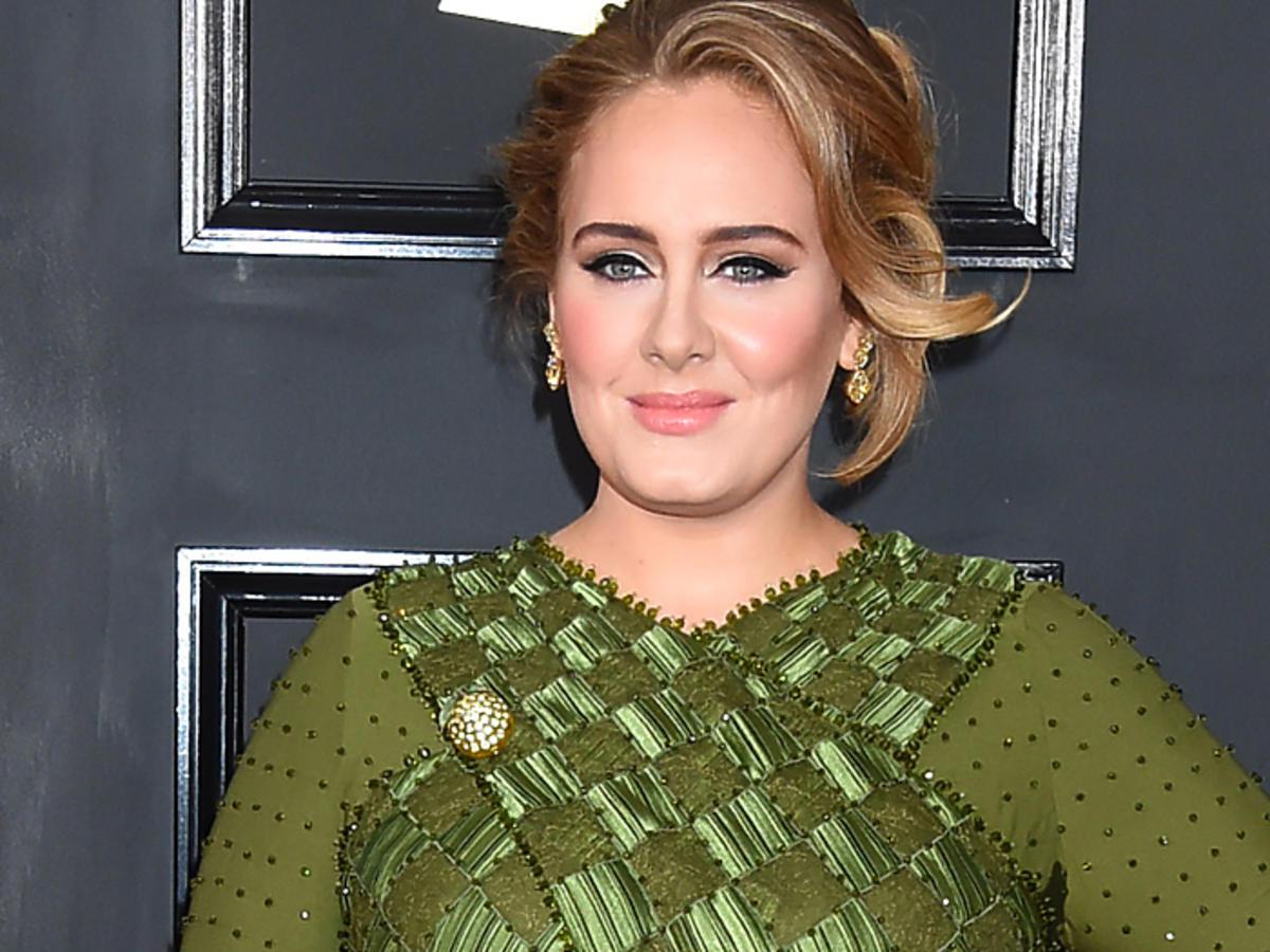 Adele schudła