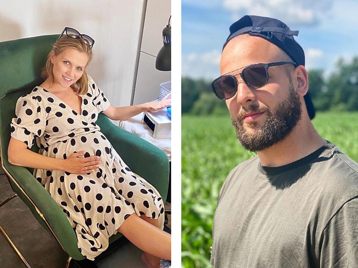 Agnieszka Kaczorowska i jej mąż dyskutują w sieci