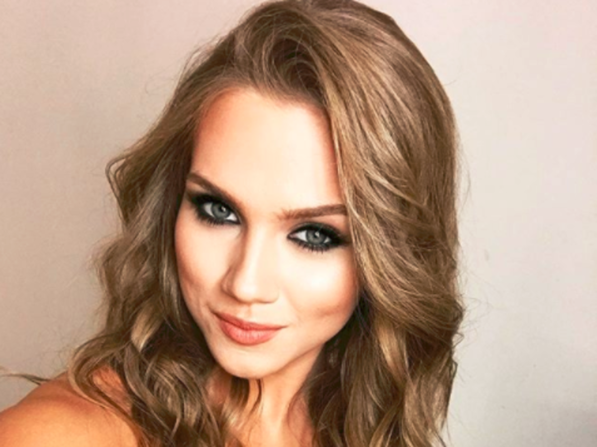 Agnieszka Kaczorowska selfie