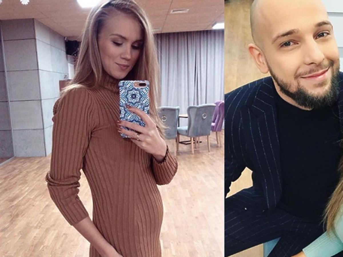Agnieszka Kaczorowska w ciąży i Maciej Pela