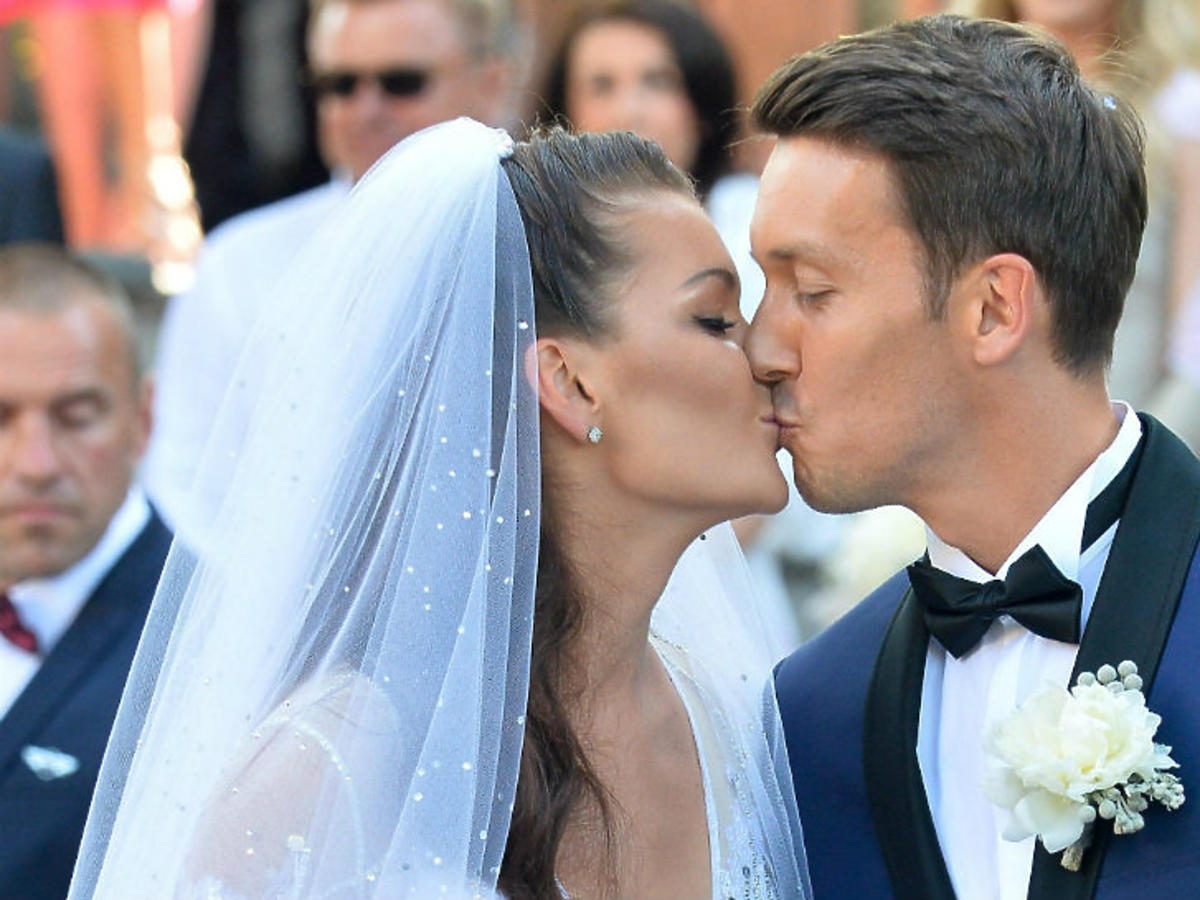 agnieszka radanska dawid celt ślub małżeństwo para młoda
