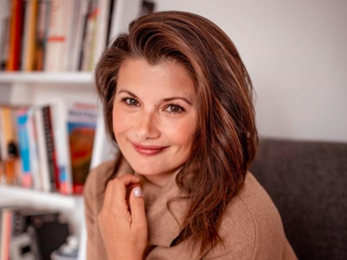 Agnieszka Sienkiewicz przed zmianą fryzury