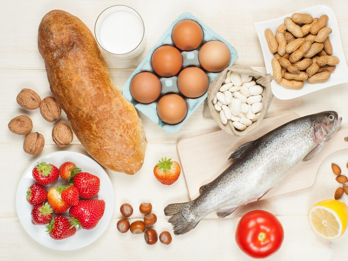 Alergeny w diecie