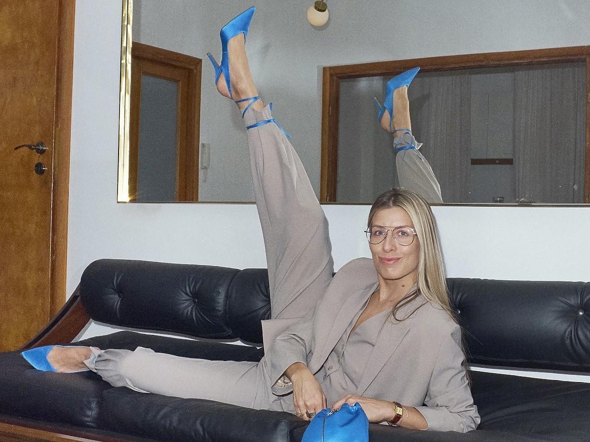 Alicja Werniewicz w butach Jenny Fairy Own Occasion