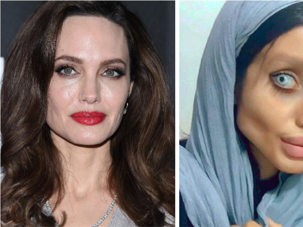 Angelina Jolie i Sahar Tabar