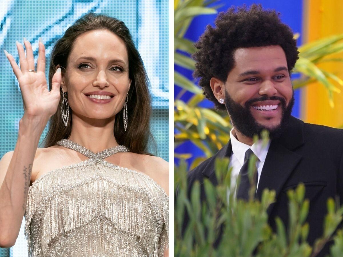 Angelina Jolie i The Weeknd są parą?