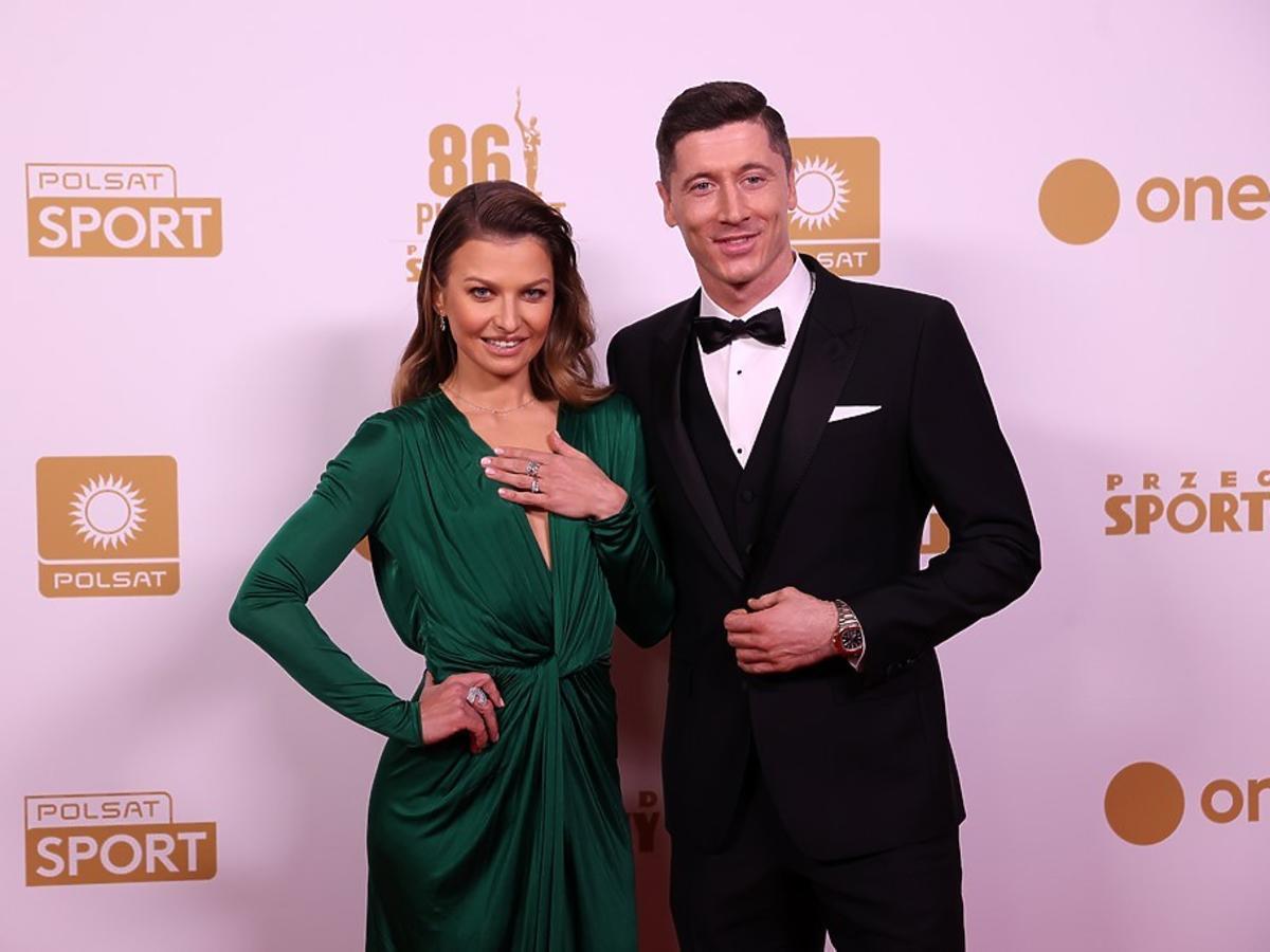 Anna i Robert Lewandowscy na Gali Mistrzów Sportu 2021
