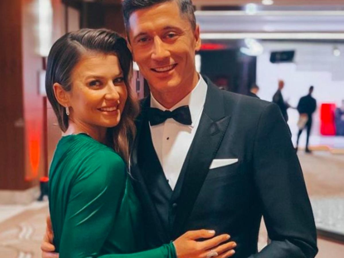 Anna i Robert Lewandowscy na Gali Mistrzów Sportu