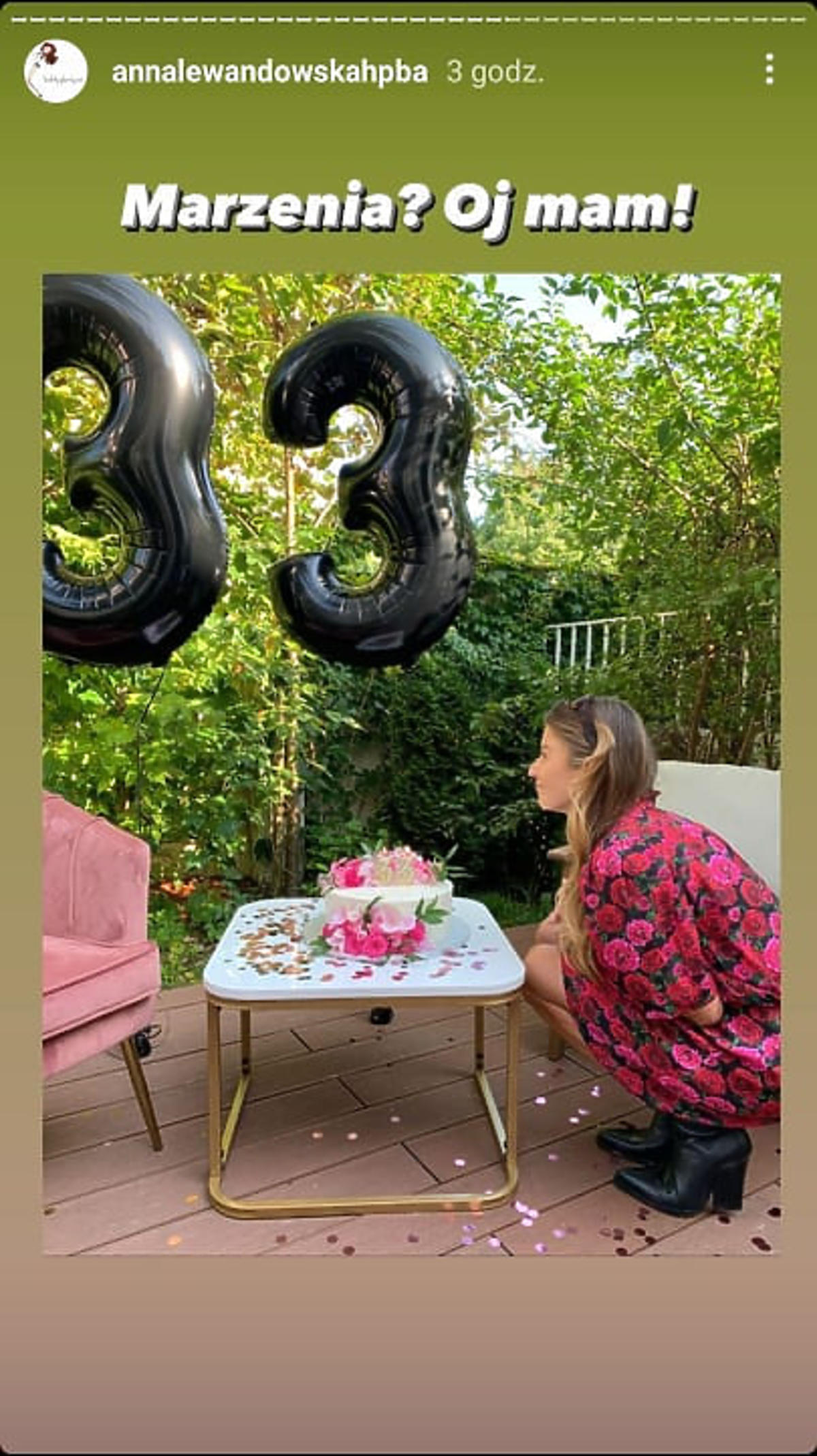 Anna Lewandowska świętuje 33. urodziny