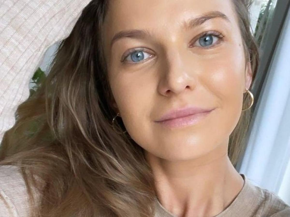 Anna Lewandowska w modnej koszulce