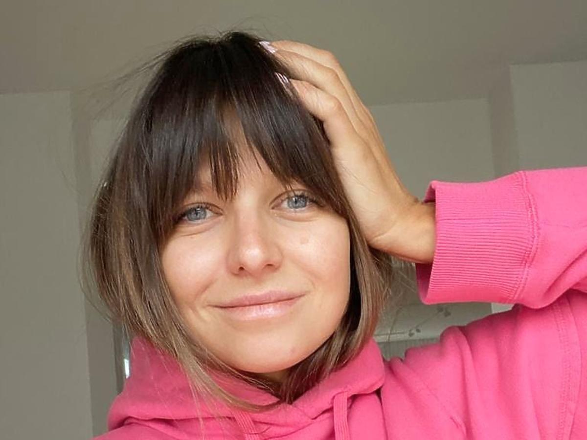Anna Lewandowska w nowej fryzurze