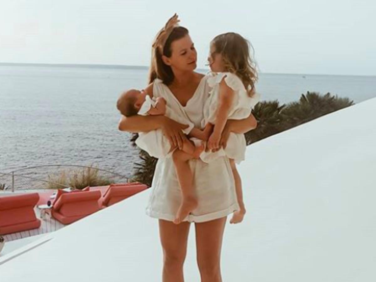 anna lewandowska z dziećmi na wakacjach