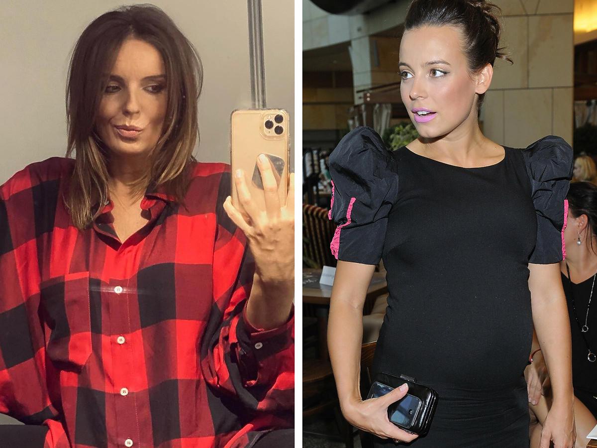 Anna Mucha i Agnieszka Włodarczyk w ciąży