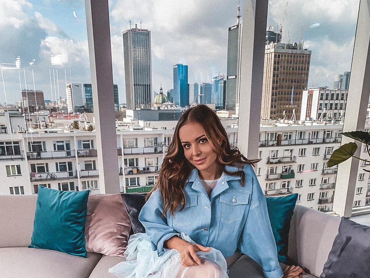 Anna Wendzikowska marynarka Sinsay