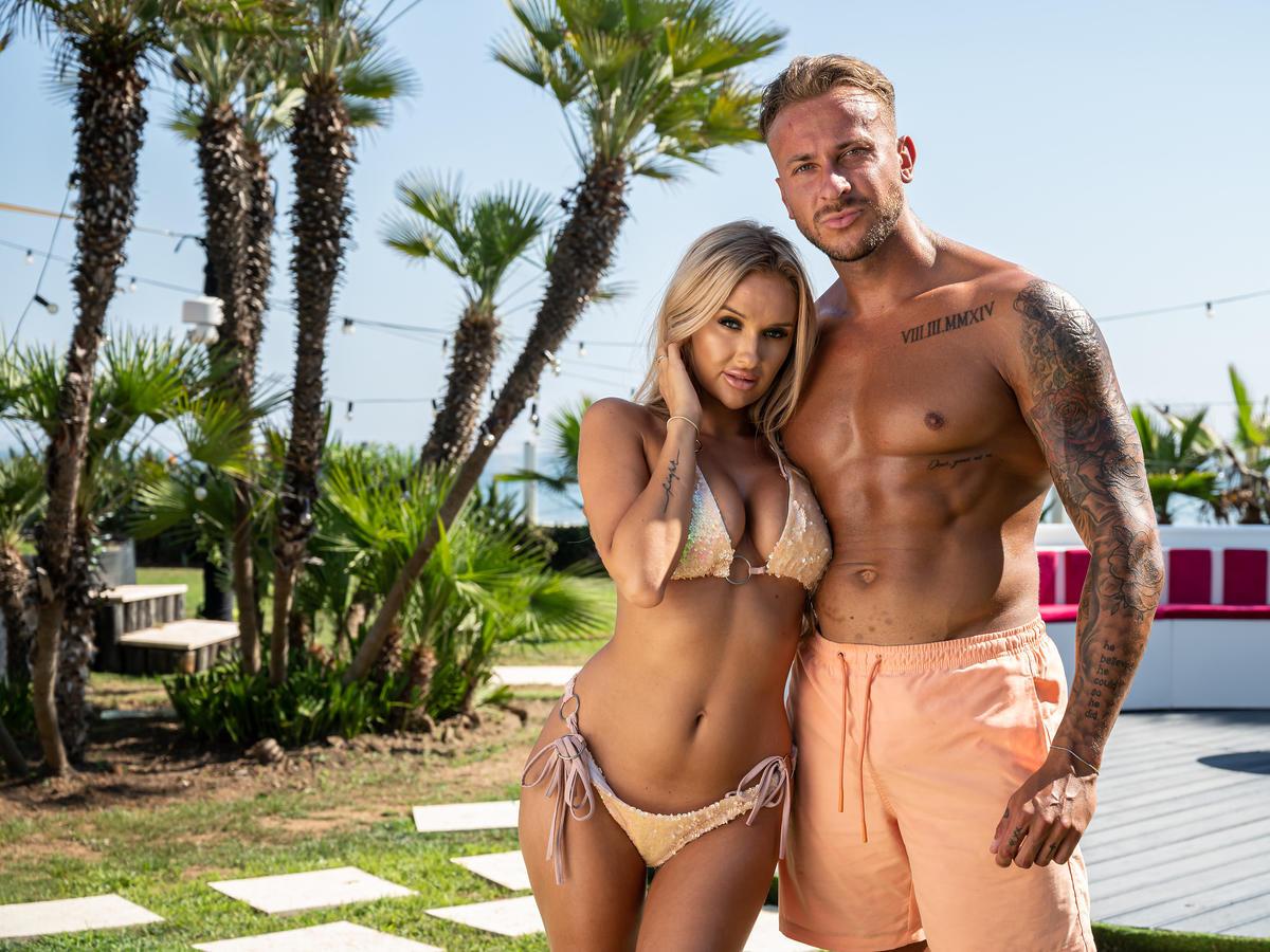 Arek i Aleksandra w Love Island