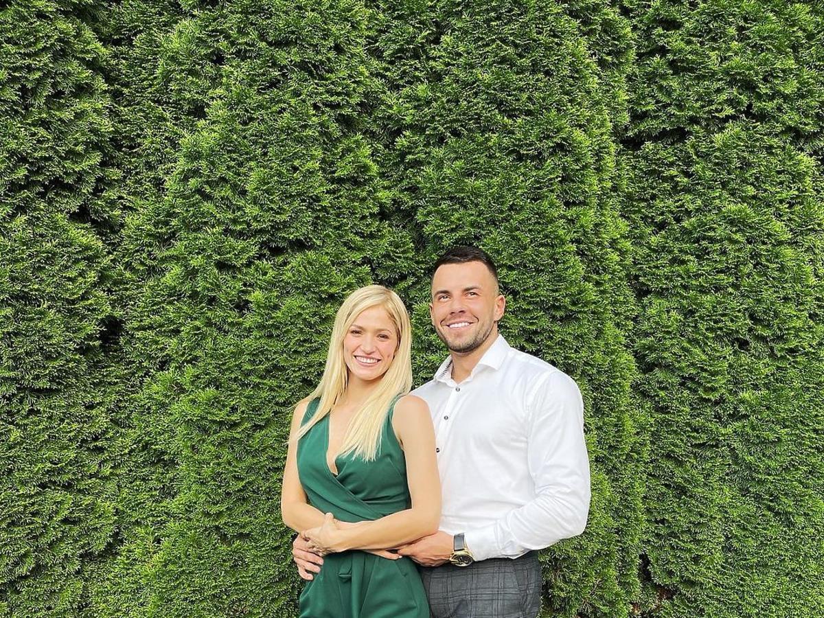 Basia i Krzysztof z hotelu Paradise na weselu znajomych