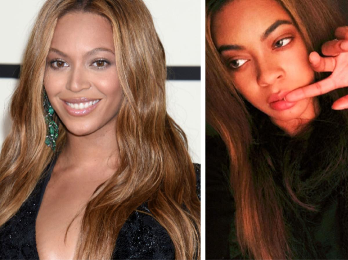Beyonce i jej sobowtór