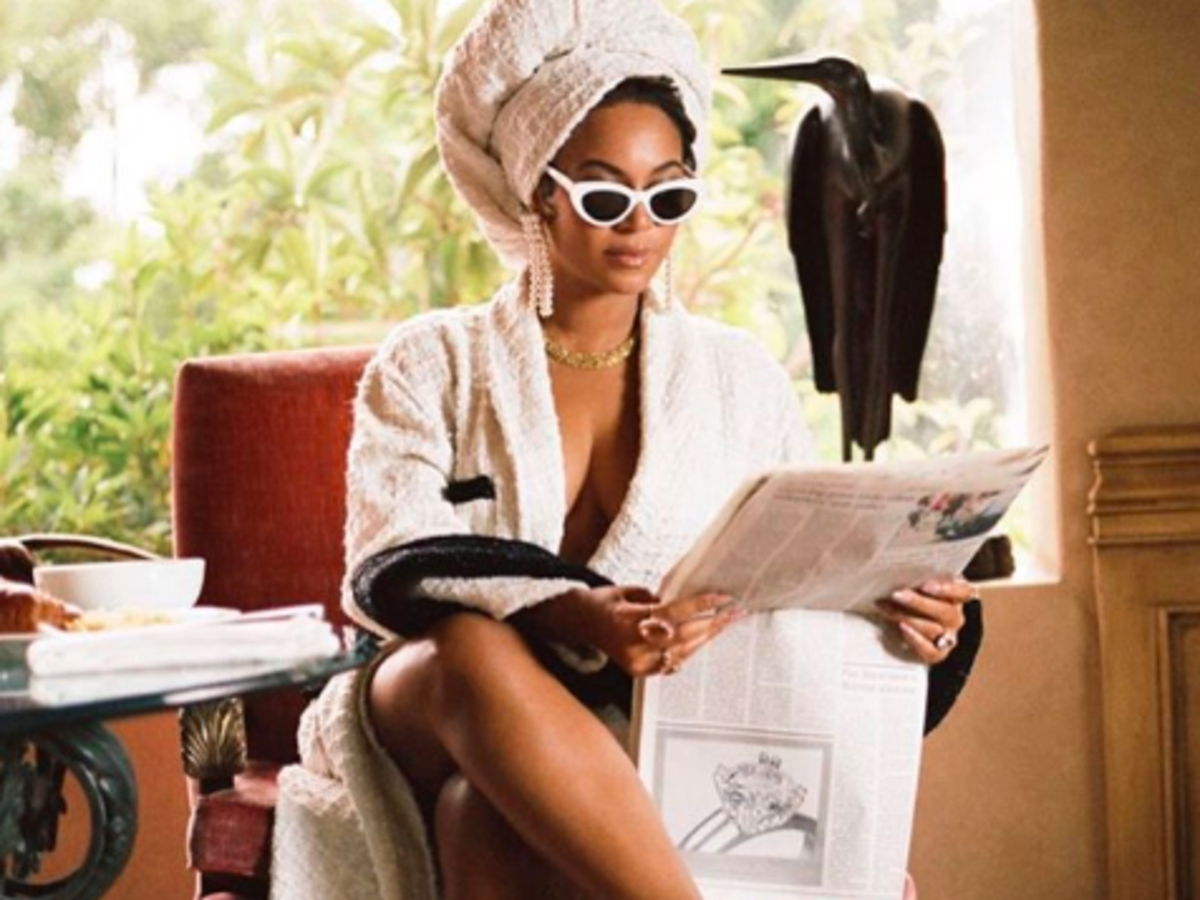 Beyonce w butach Magdy Butrym