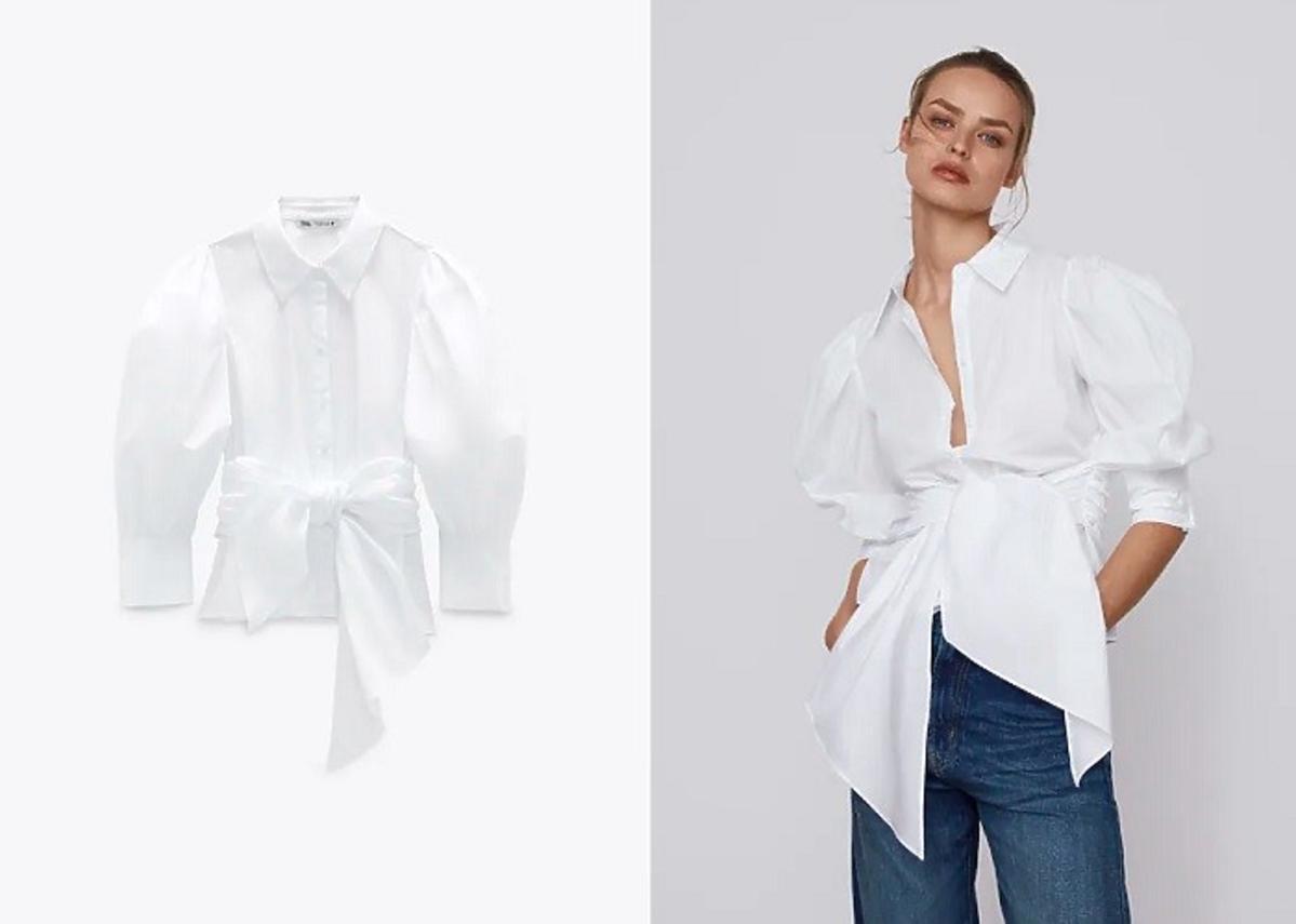 Biała koszula ZARA Black Friday