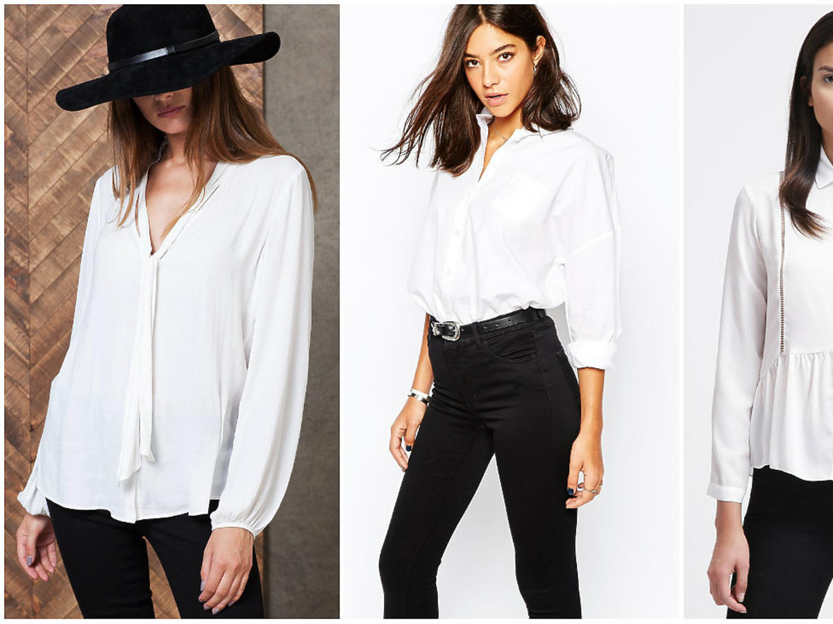 Białe koszule damskie