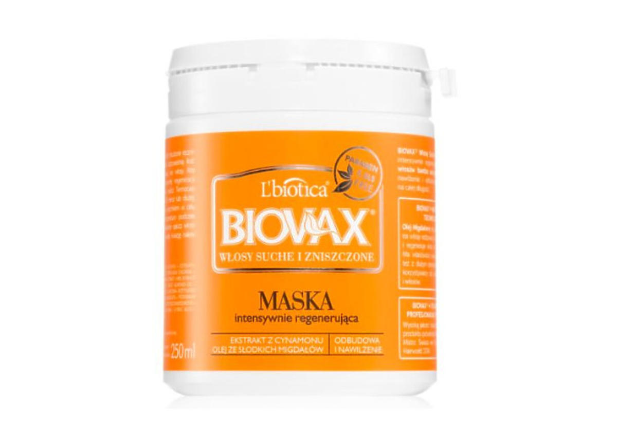 Biovax maska do włosów intensywnie regenerująca