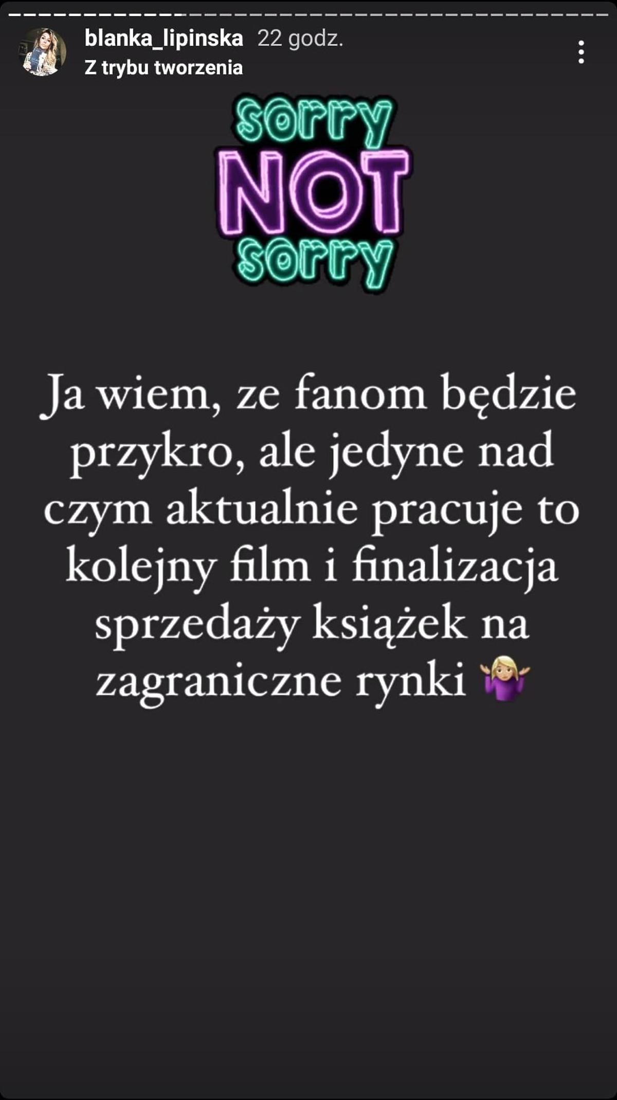 """Blanka Lipińska napisze książkę inspirowaną Baronem? Aktorka """"365 dni"""" odpowiedziała"""