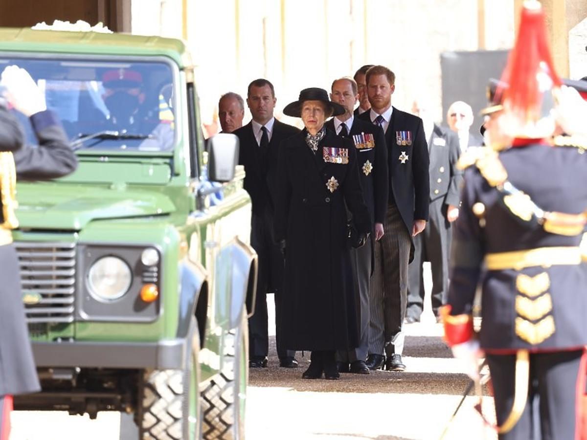 Bliscy na pogrzebie księcia Filipa