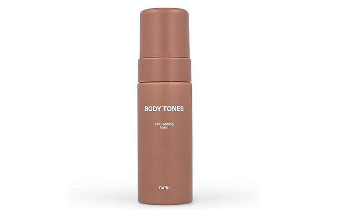 Body Tones, Self-tanning Foam, Samoopalająca pianka do ciała