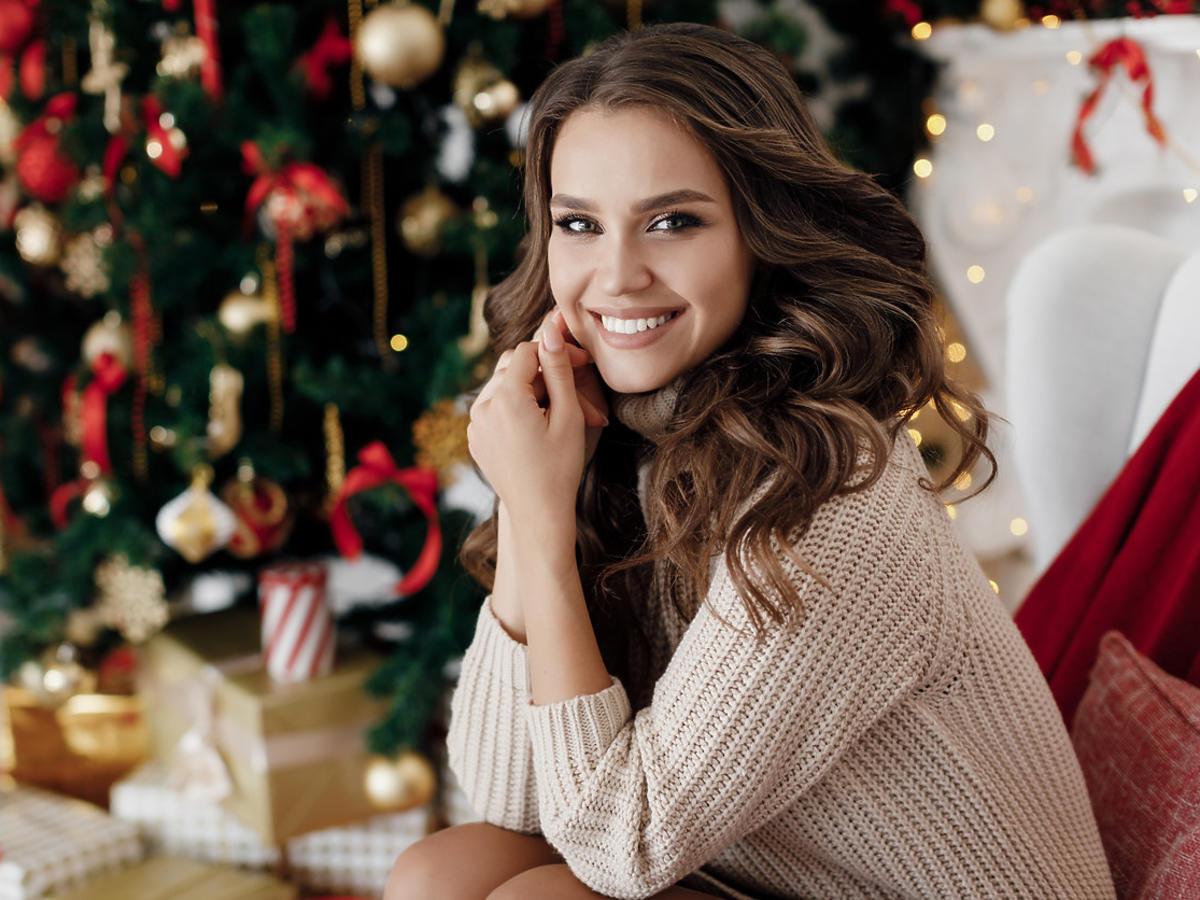 Boże Narodzenie prezent świąteczny dla kobiety