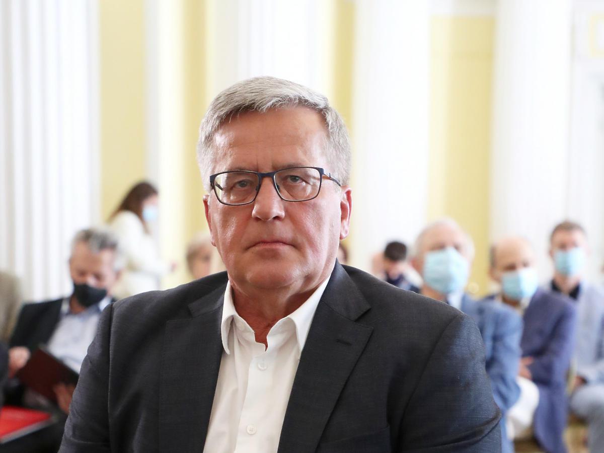 Bronisław Komorowski ma koronawirusa