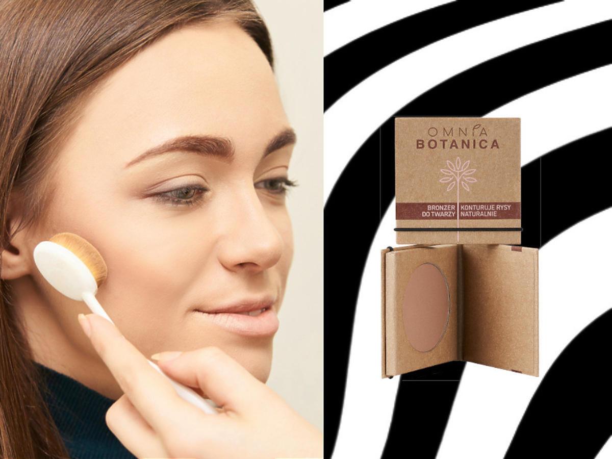 brozner do twarzy Omnia Botanica - efekty