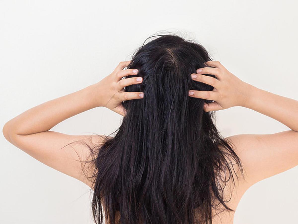 Brudne włosy