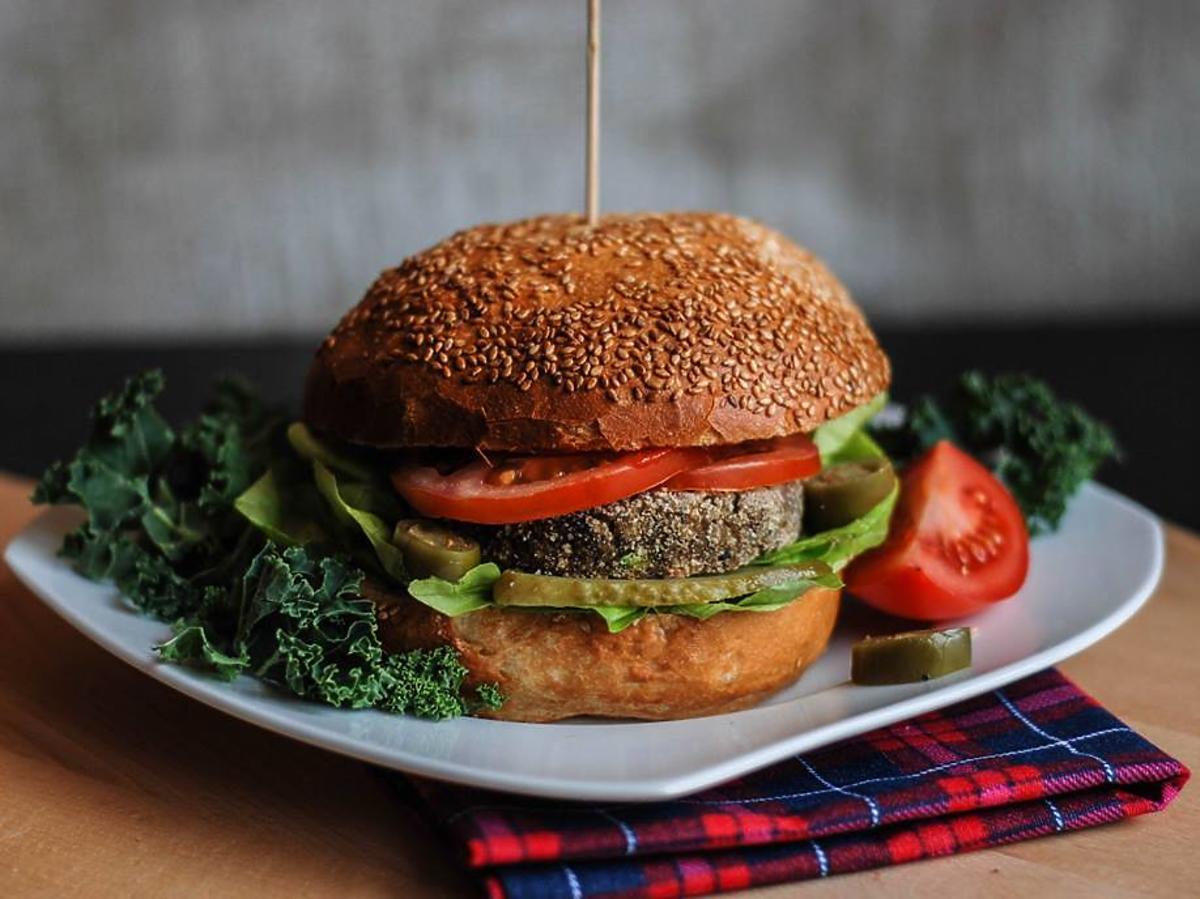 burgery z kaszy jaglanej