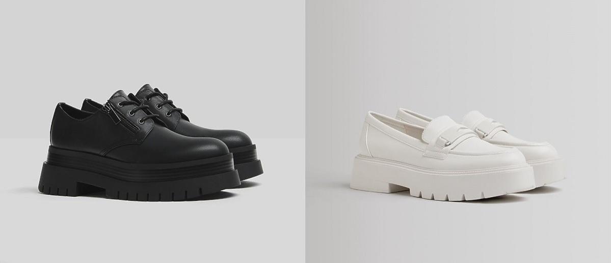 buty na jesień na platformie