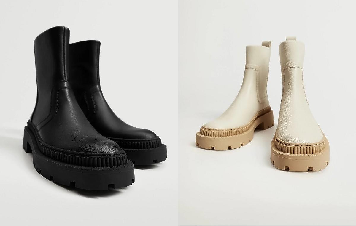 buty na jesień z cholewką