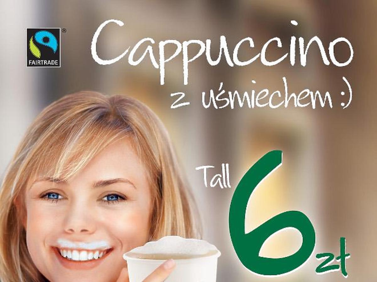 Cappuccino w Starbucks