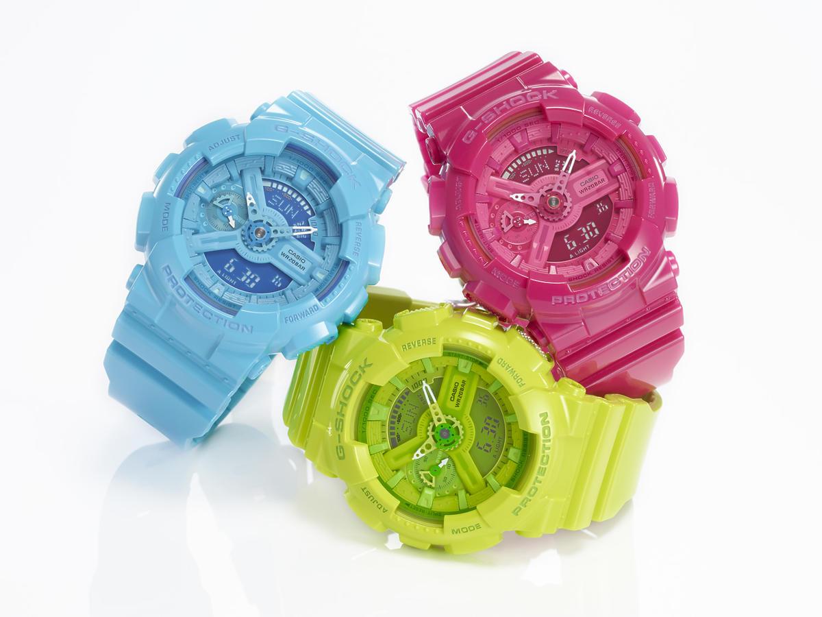 Casio damkie zegarki G-Shock